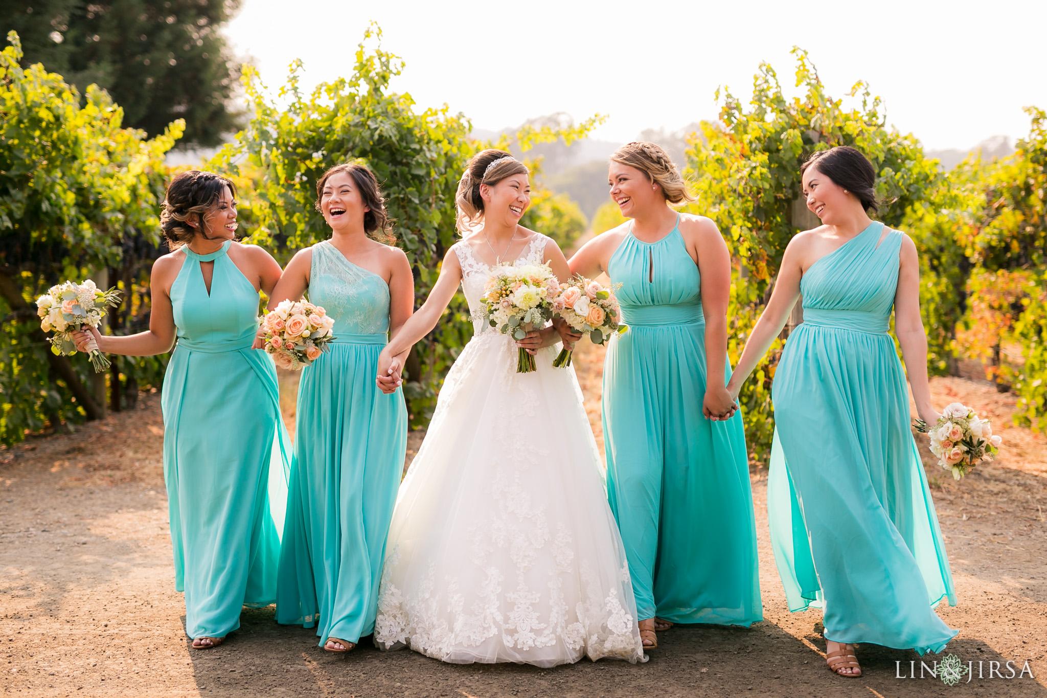 Outdoor wedding at Trentadue Winery
