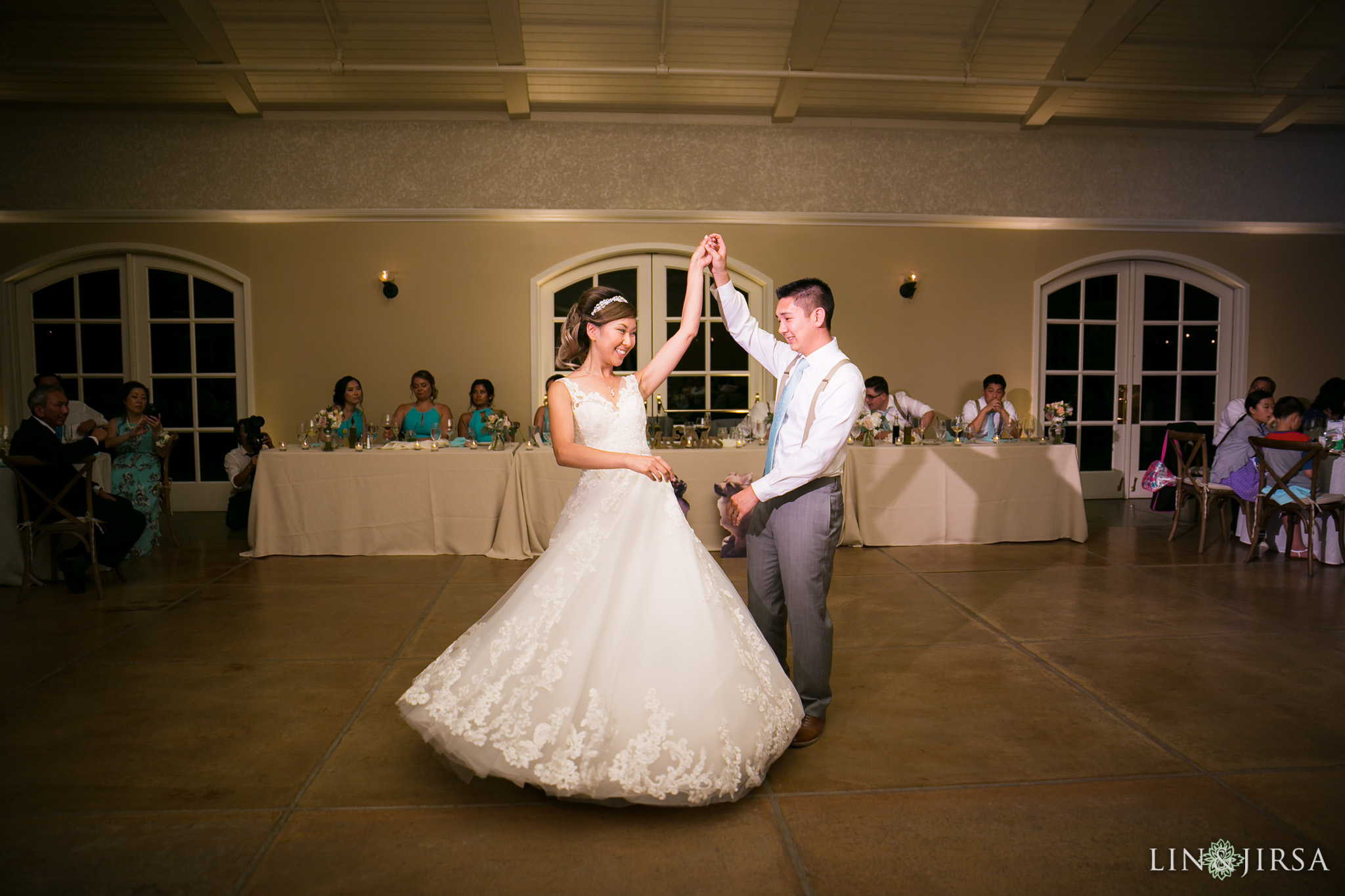 First dance at Trentadue Winery