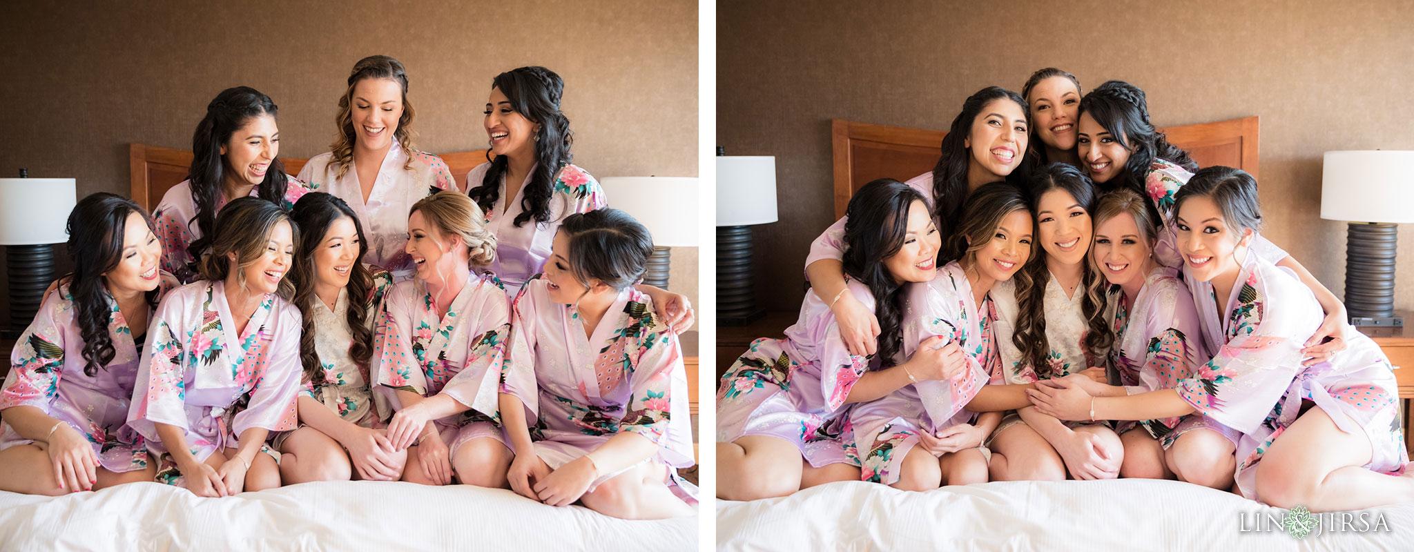 03 hilton costa mesa bridesmaids wedding photography