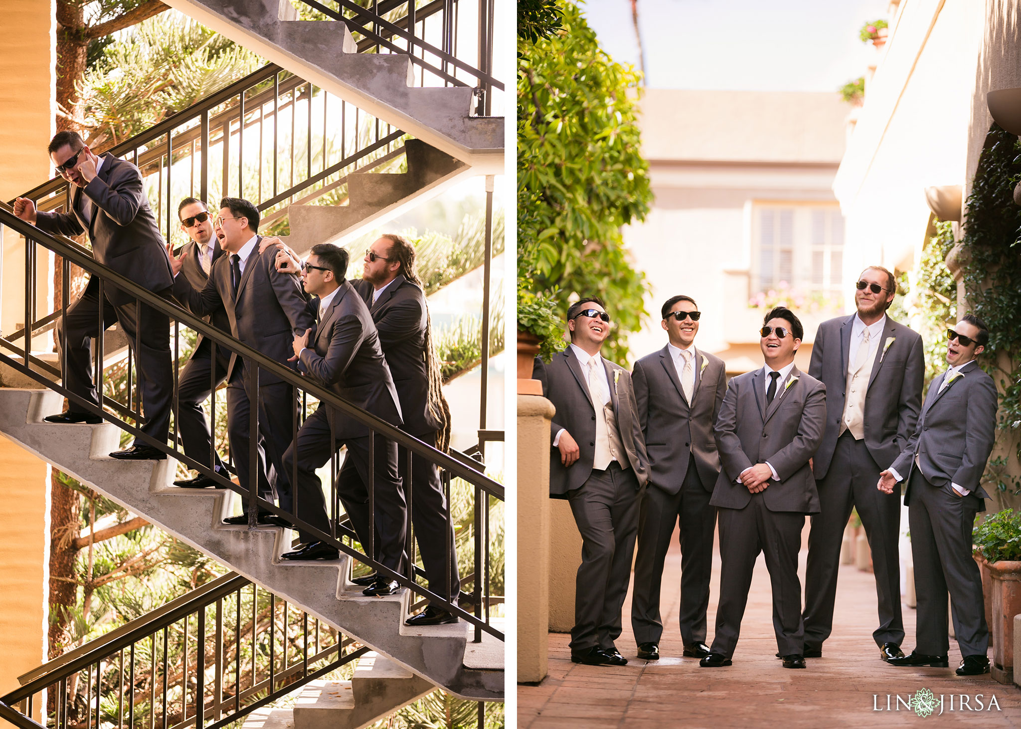 09 surf and sand resort laguna beach groomsmen photography