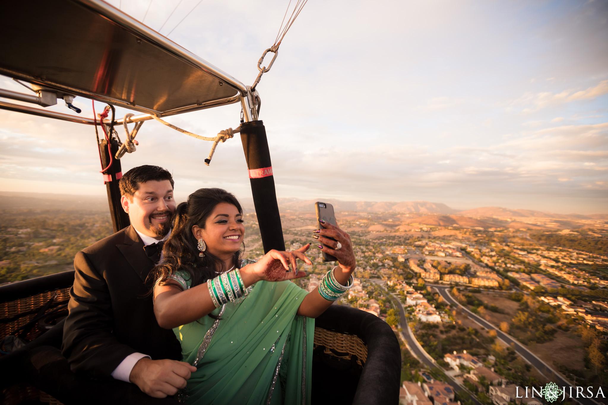 10 hot air balloon san diego engagement photography