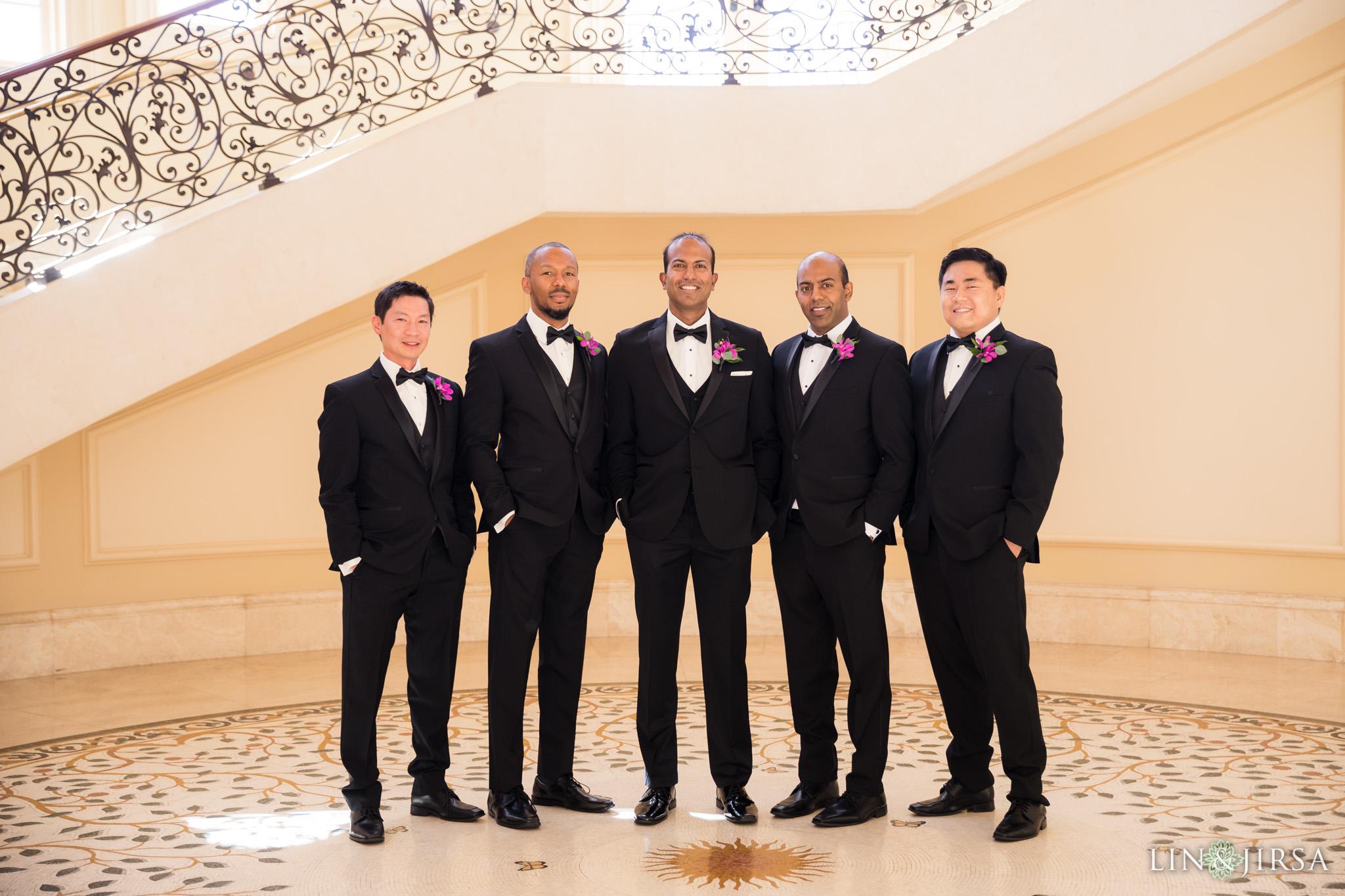 10 monarch beach resort groomsmen wedding photography