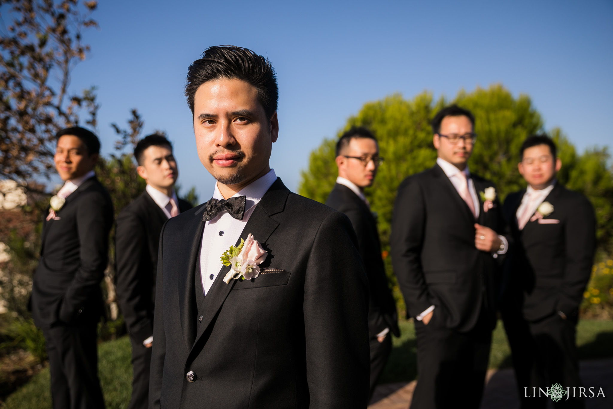 10 terranea resort groomsmen wedding photography