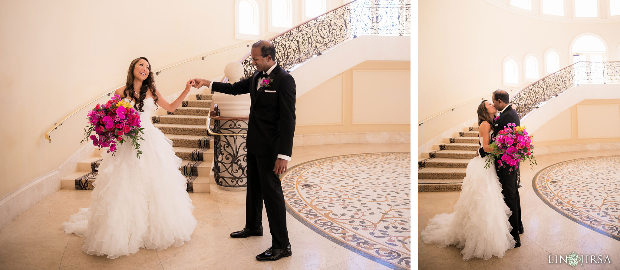 11 monarch beach resort first look wedding photography