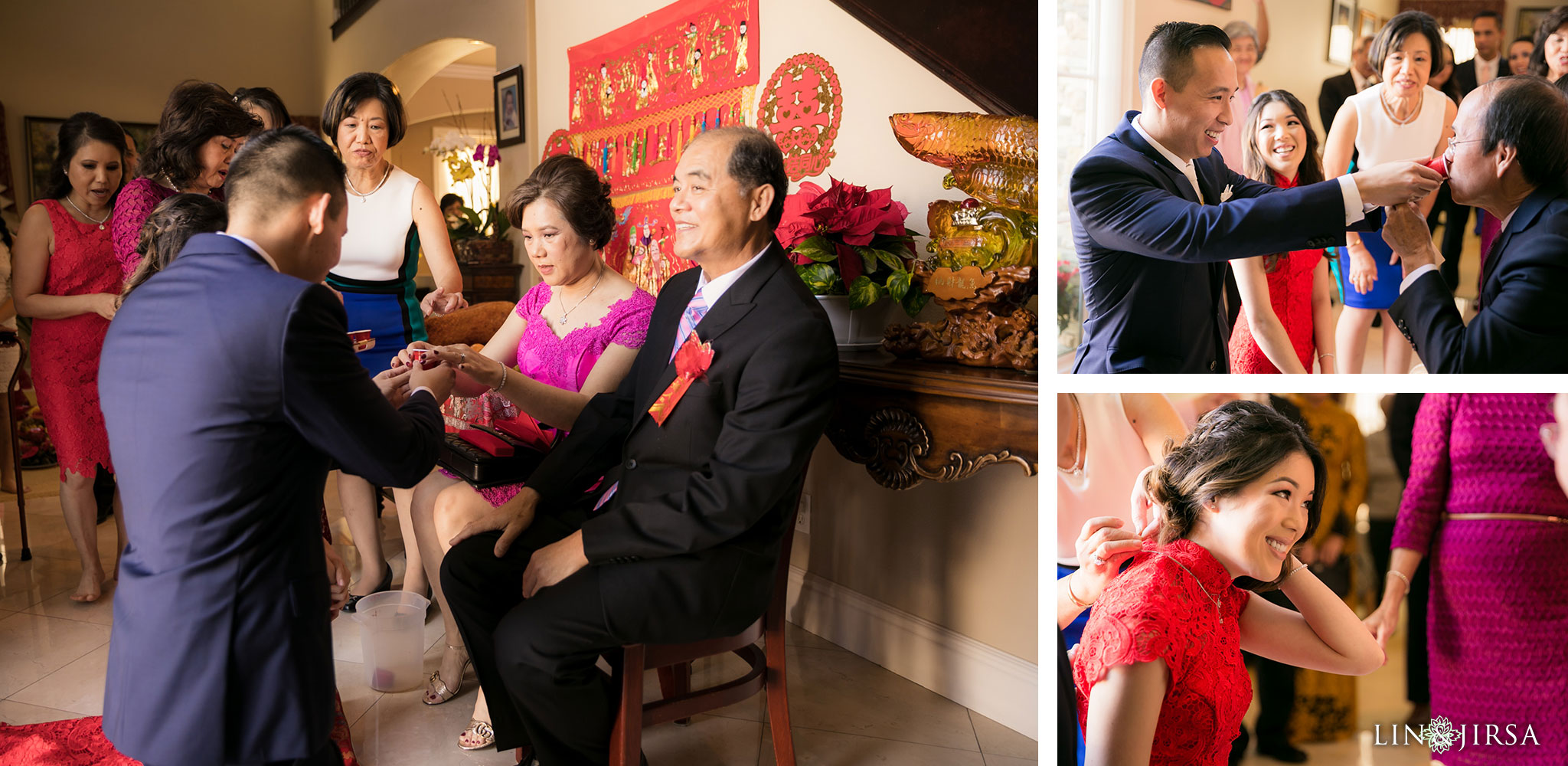 11 orange county wedding tea ceremony photography