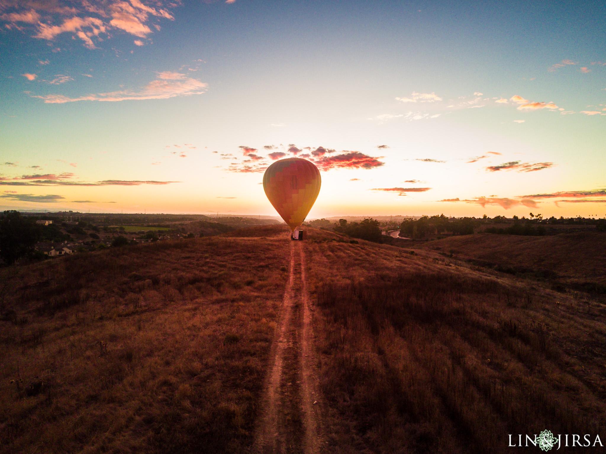 14 hot air balloon san diego engagement photography