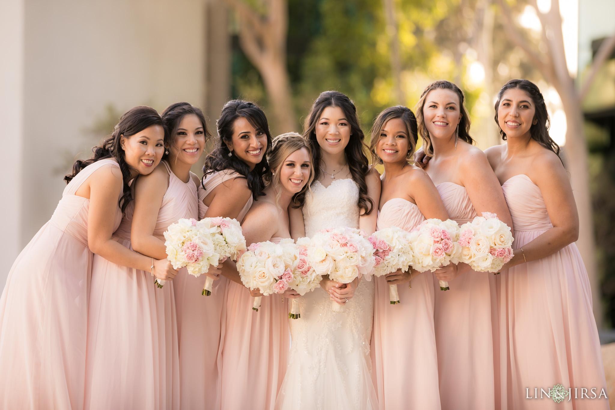16 hilton costa mesa bridesmaids wedding photography