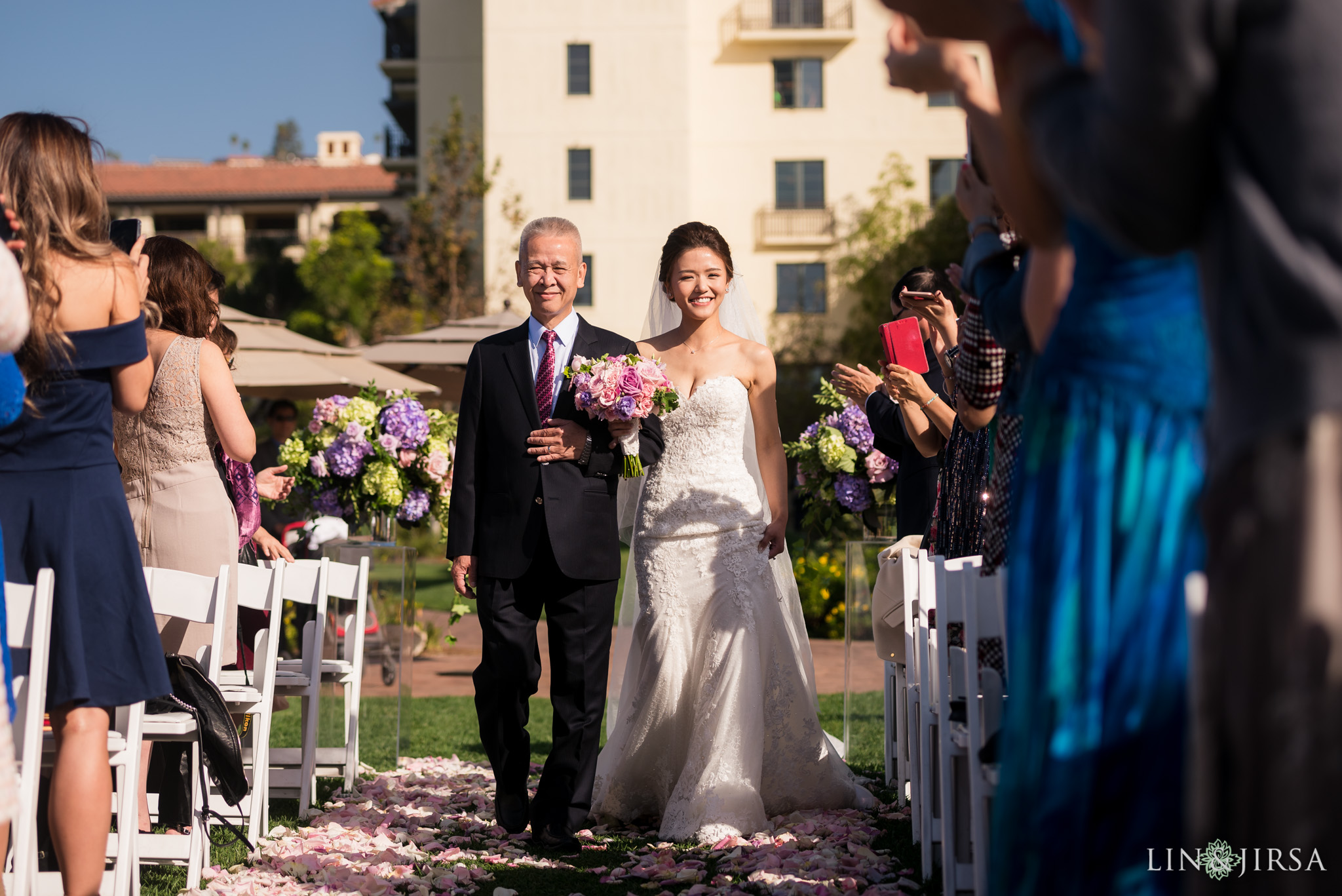 17 terranea resort wedding ceremony photography