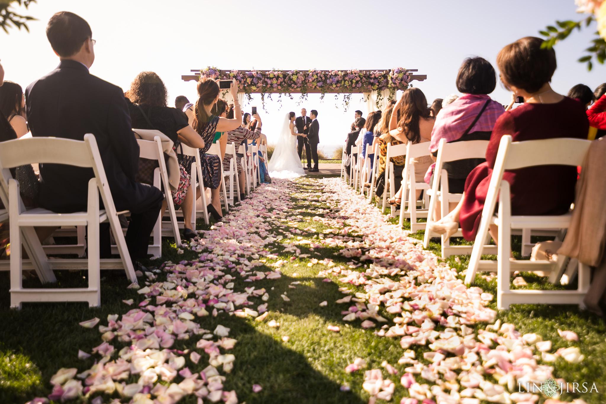 19 terranea resort wedding ceremony photography