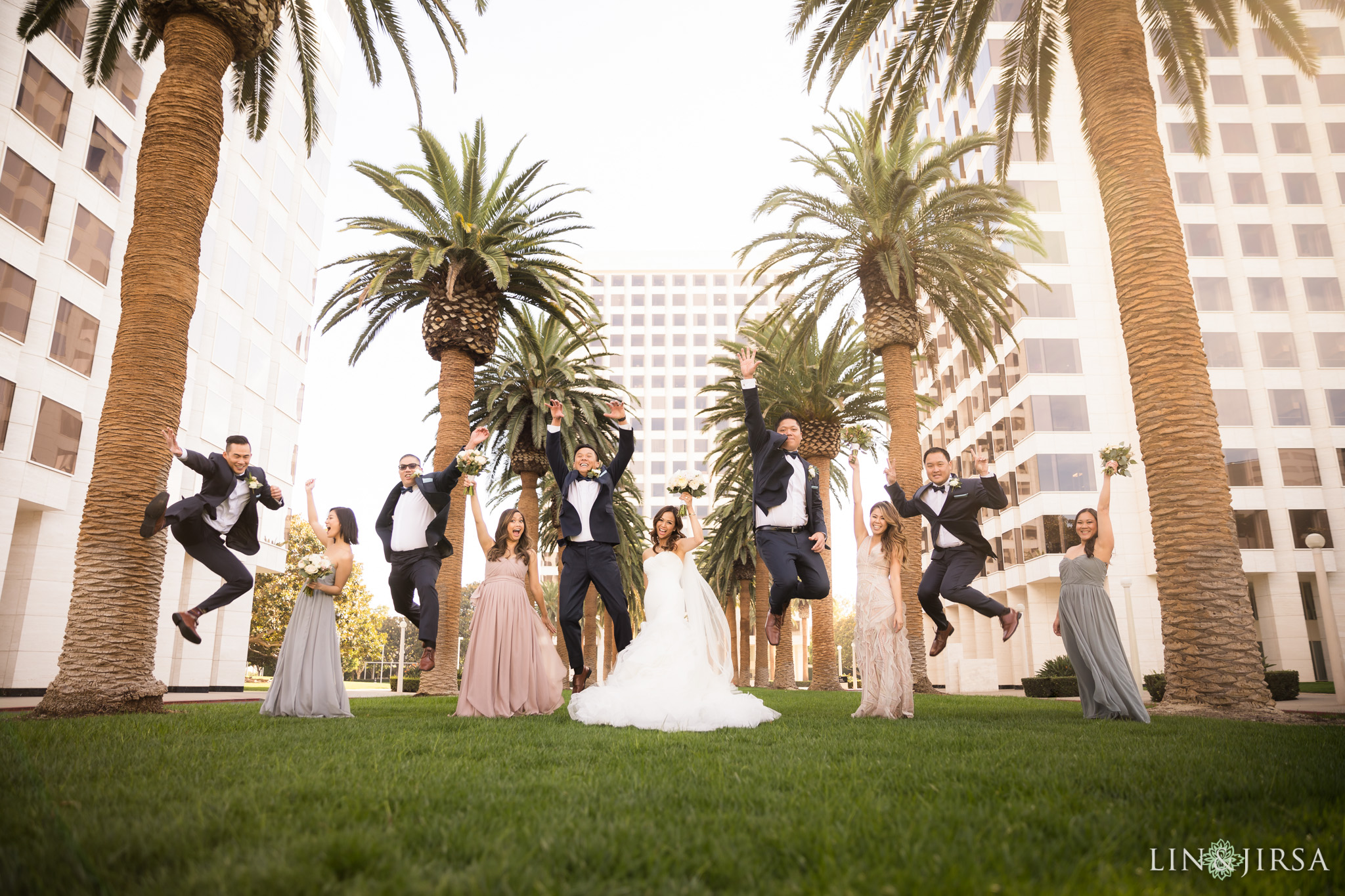 21 hotel irvine orange county wedding party photography