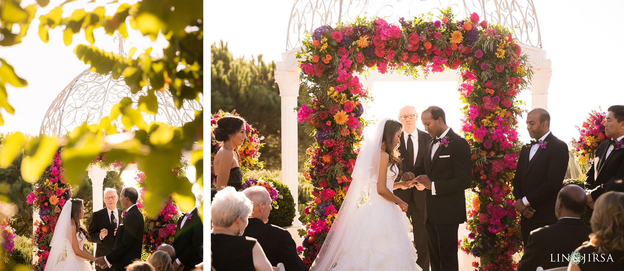 21 monarch beach resort wedding ceremony photography