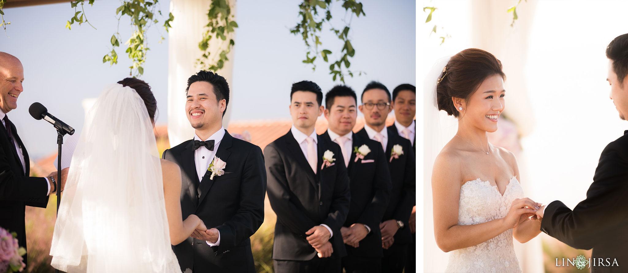 21 terranea resort wedding ceremony photography