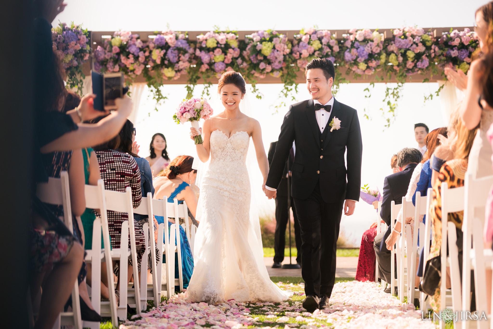 22 terranea resort wedding ceremony photography