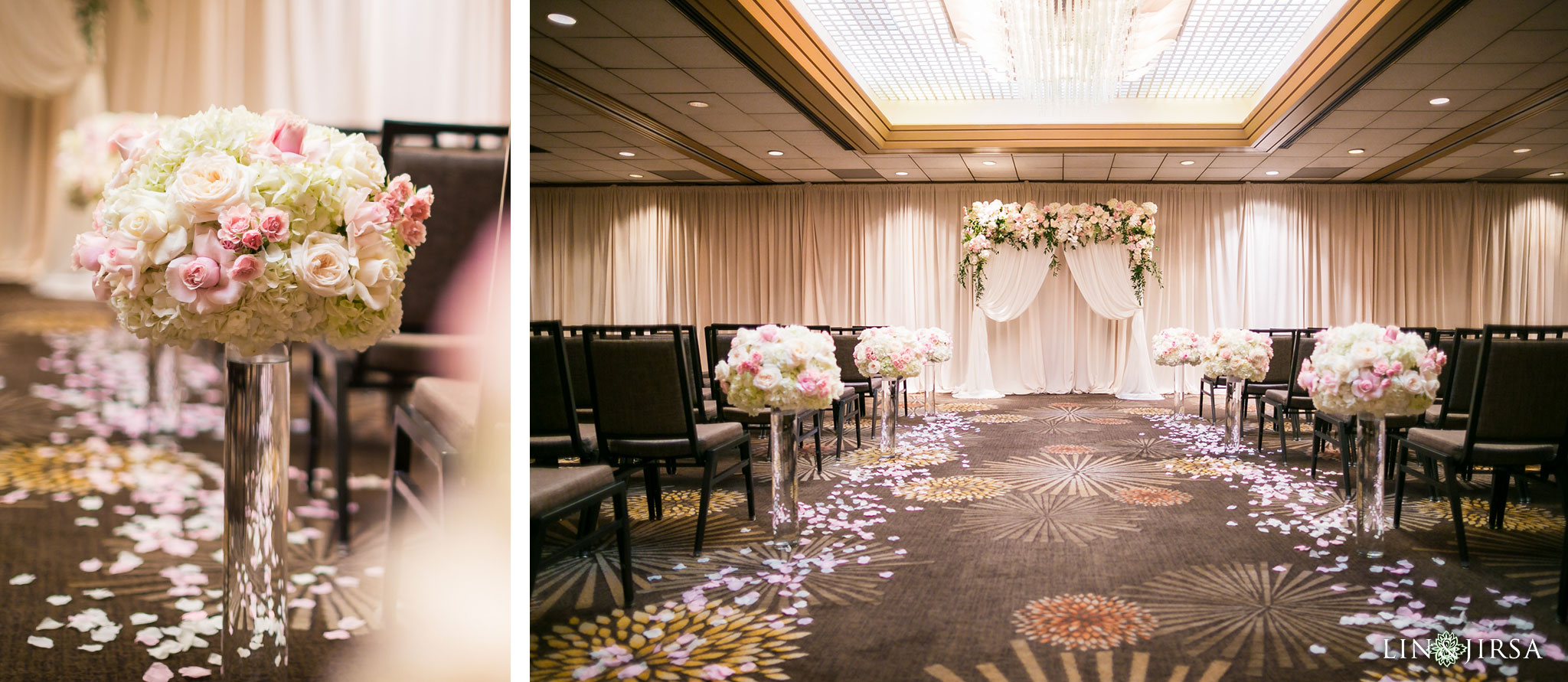 23 hilton costa mesa wedding ceremony photography