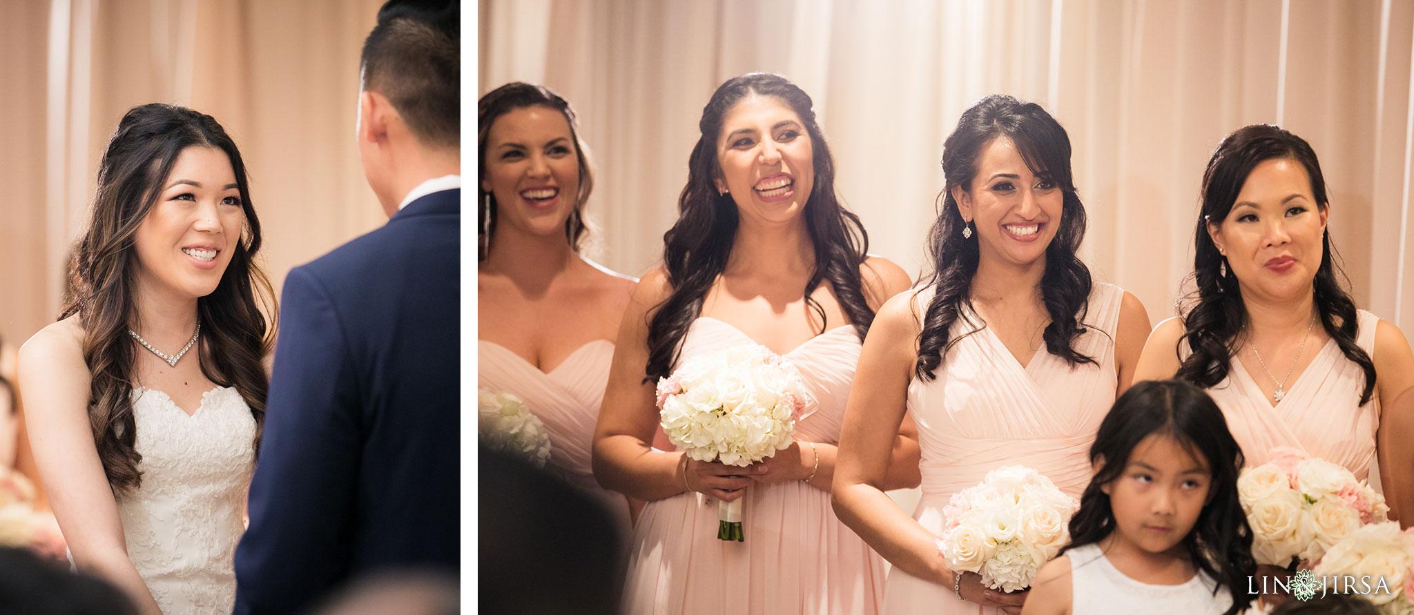 27 hilton costa mesa wedding ceremony photography