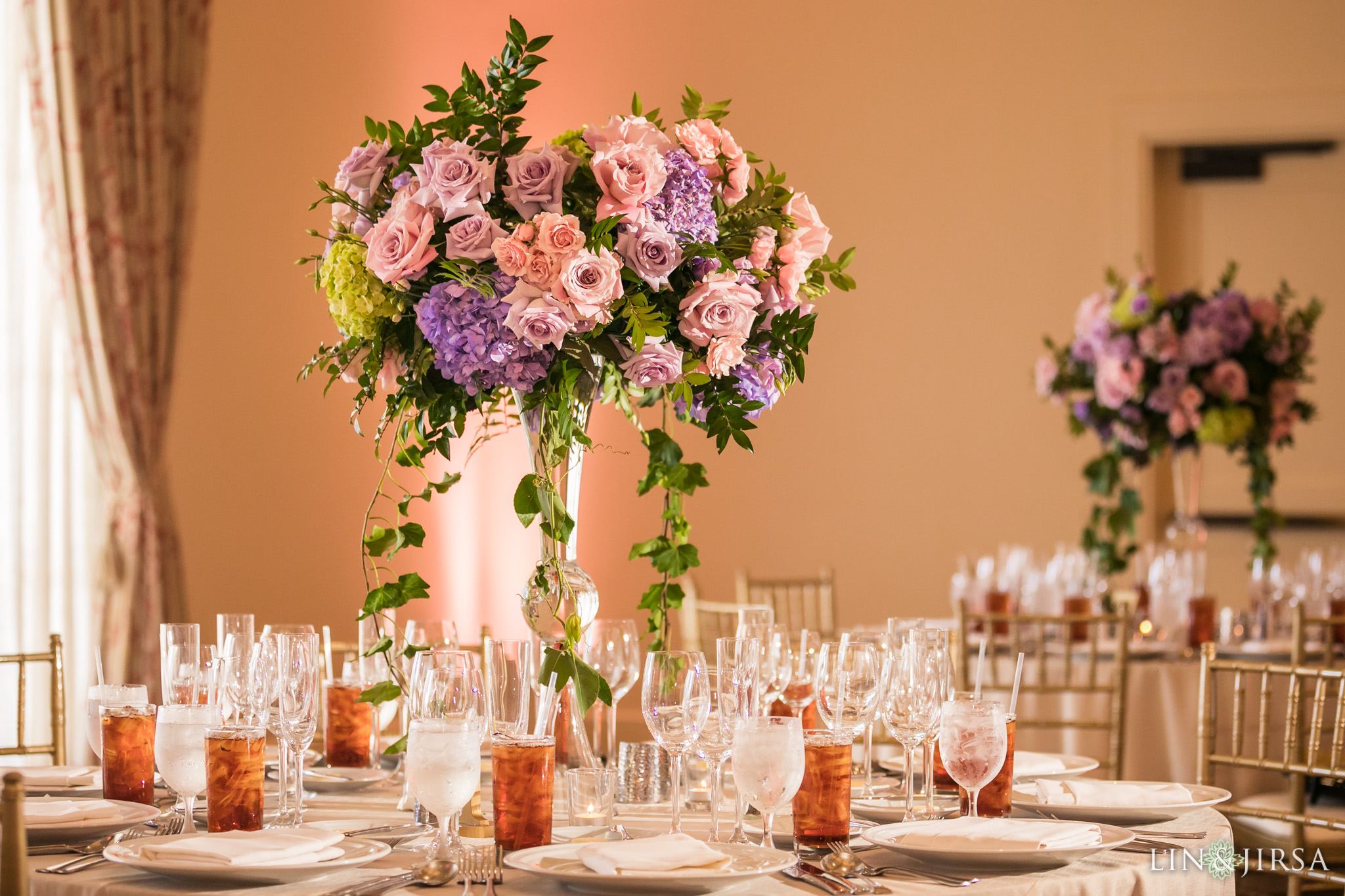 27 terranea resort wedding reception photography