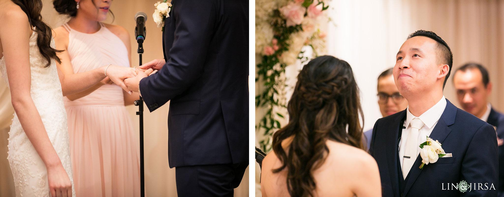 28 hilton costa mesa wedding ceremony photography