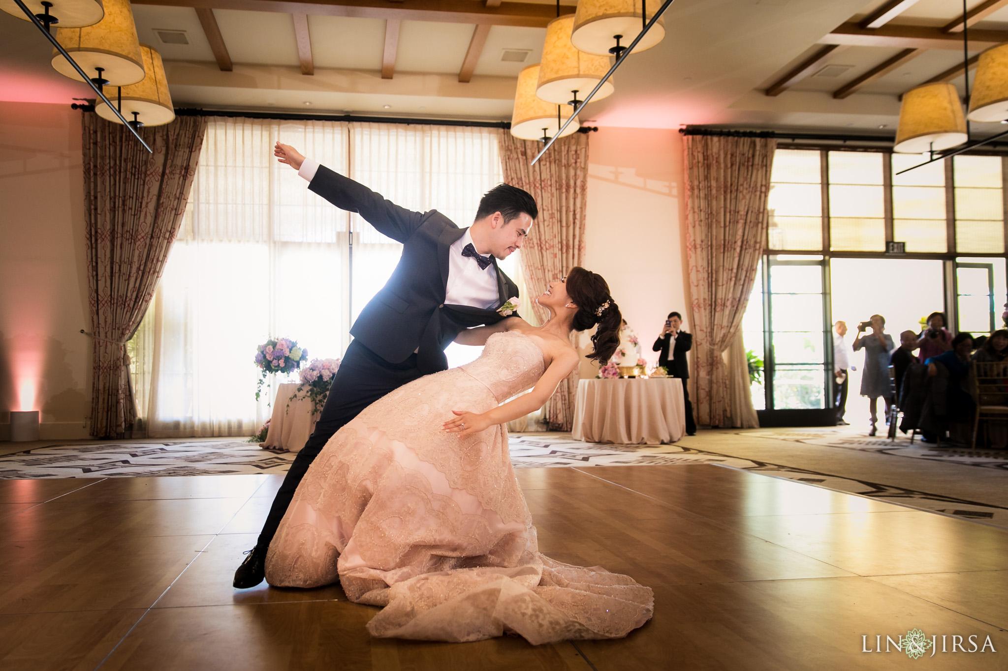 28 terranea resort wedding first dance photography