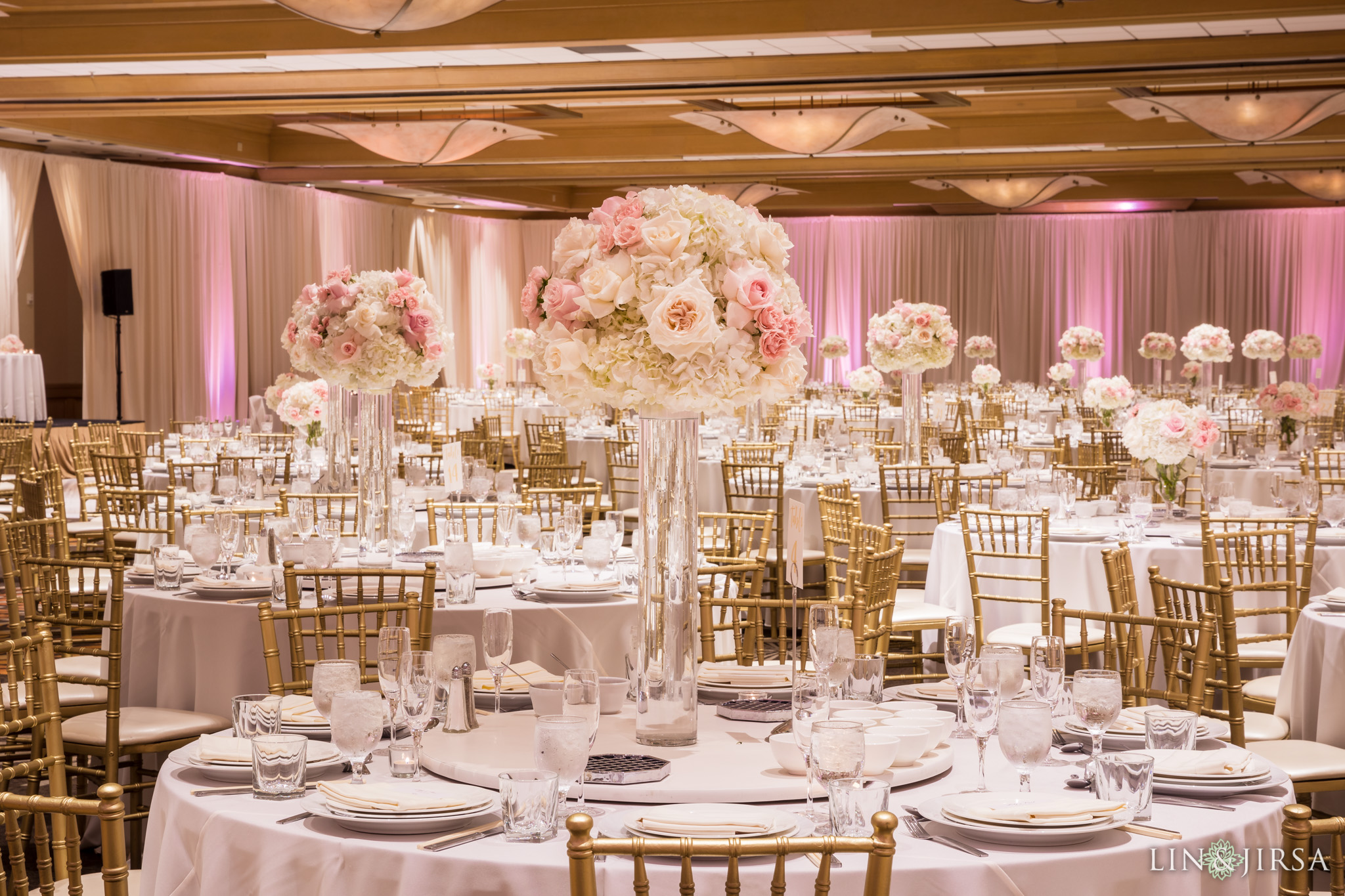 30 hilton costa mesa wedding reception photography