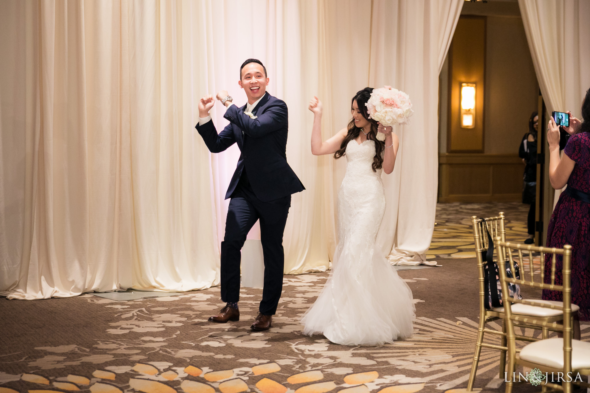 34 hilton costa mesa wedding reception photography