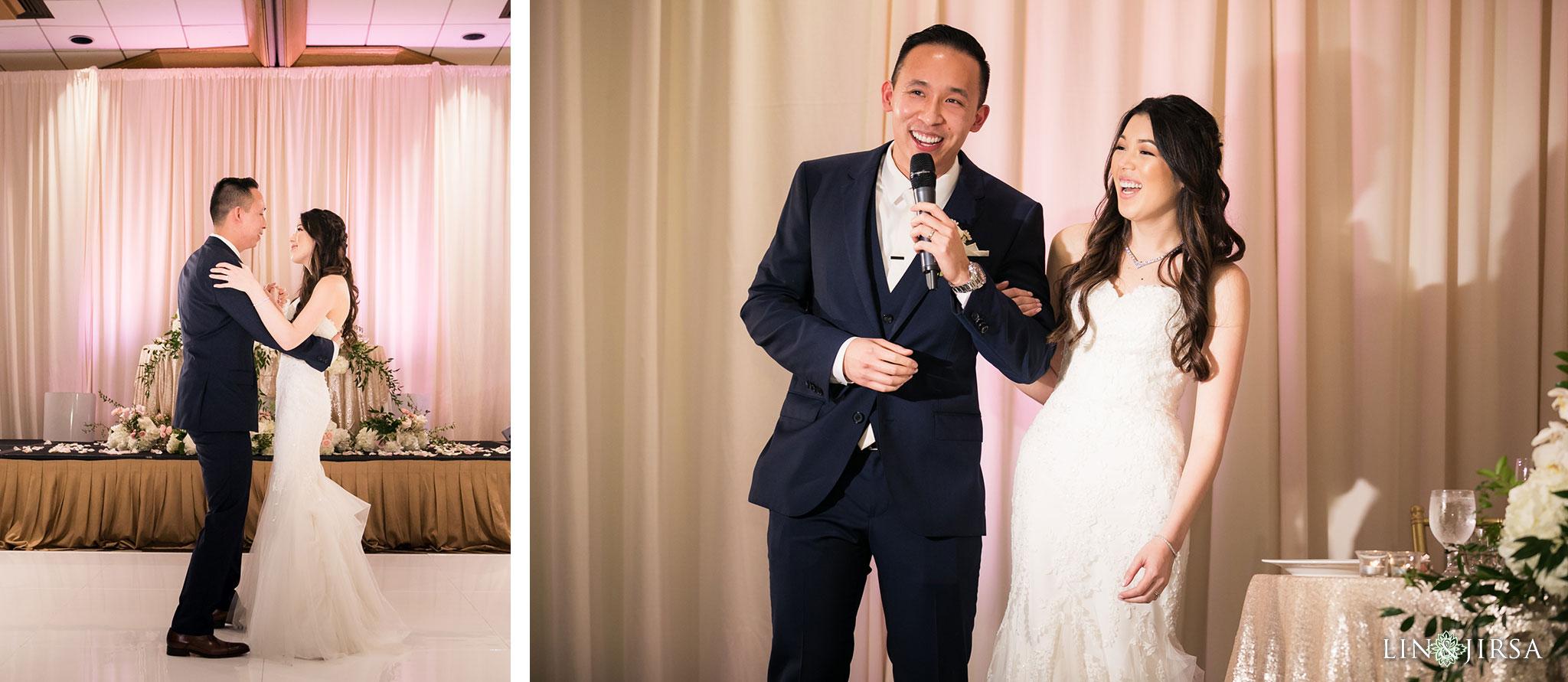 35 hilton costa mesa wedding reception photography