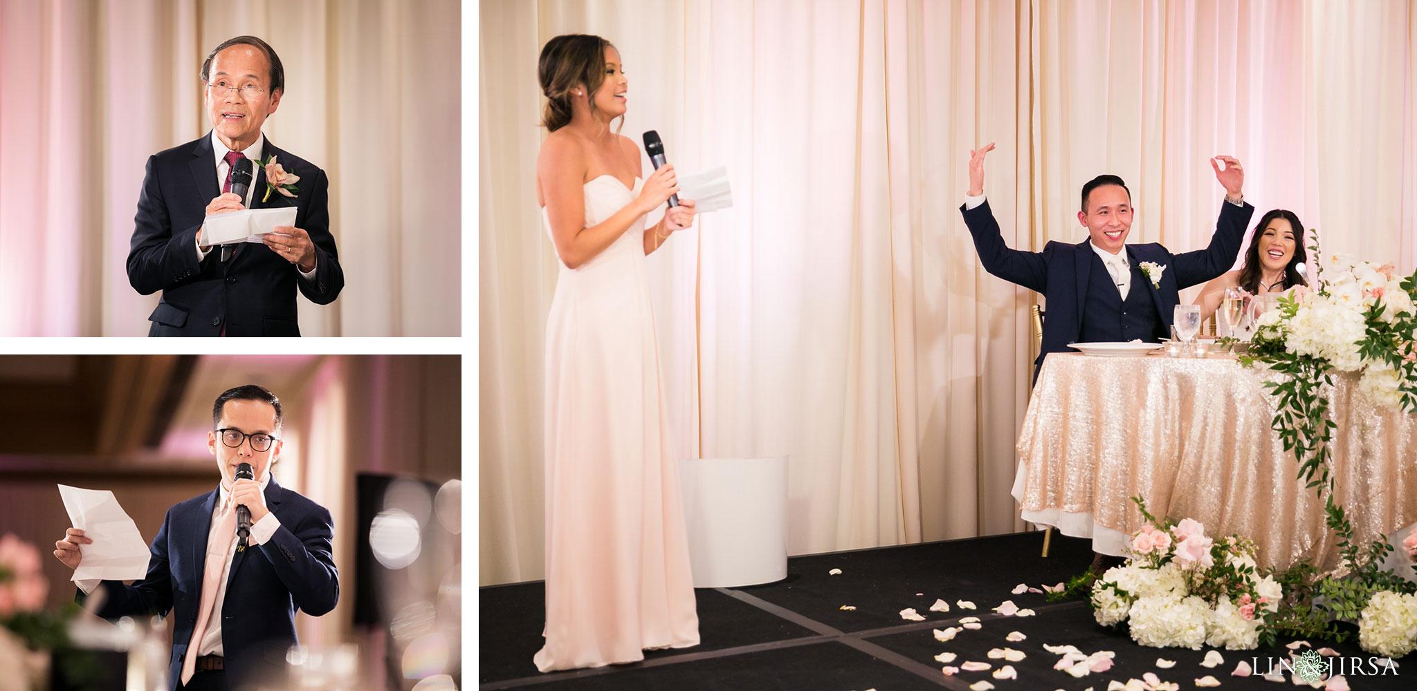 36 hilton costa mesa wedding reception photography