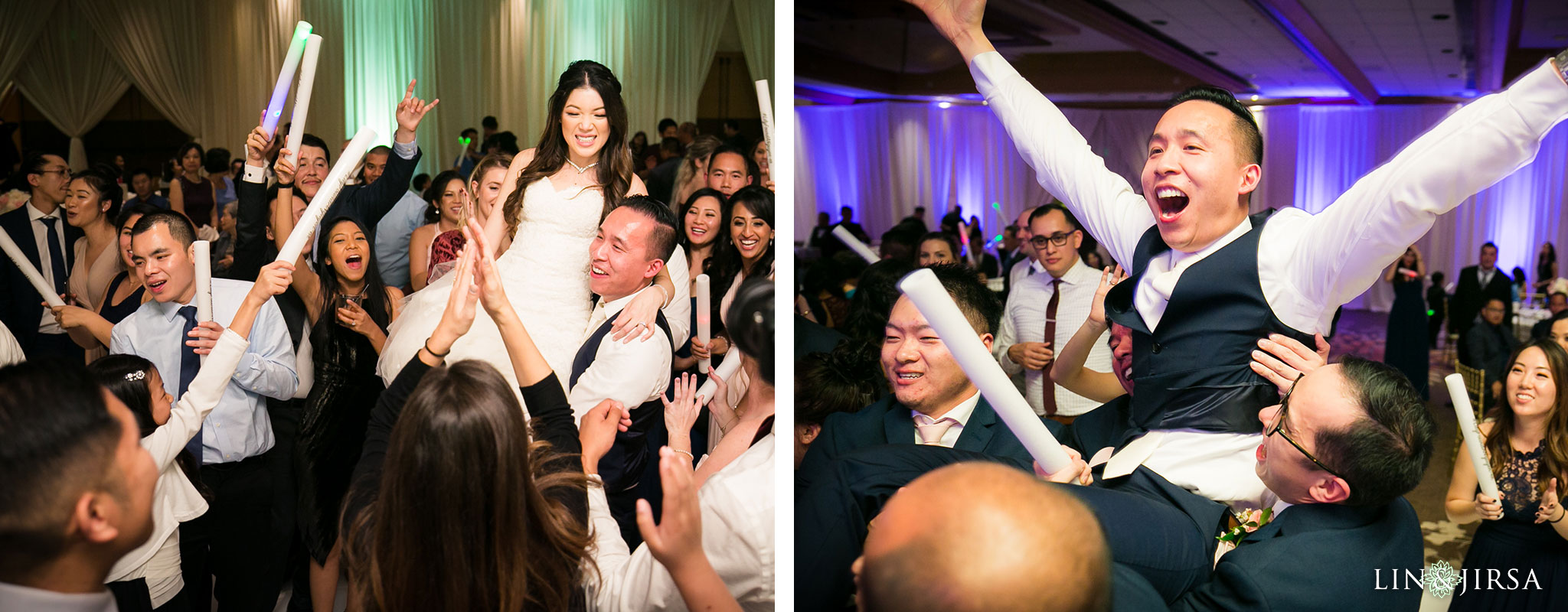 37 hilton costa mesa wedding reception photography