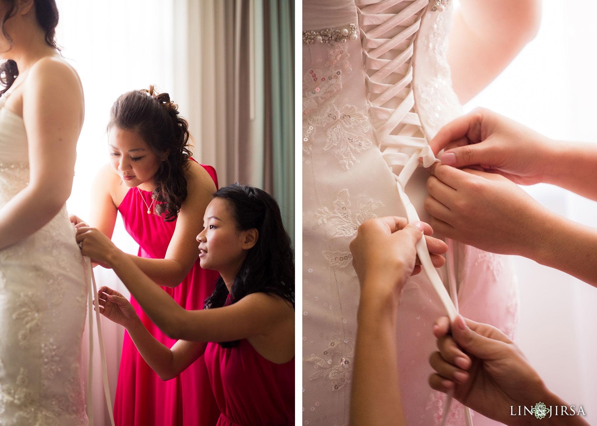 03 san gabriel hilton wedding bride photography