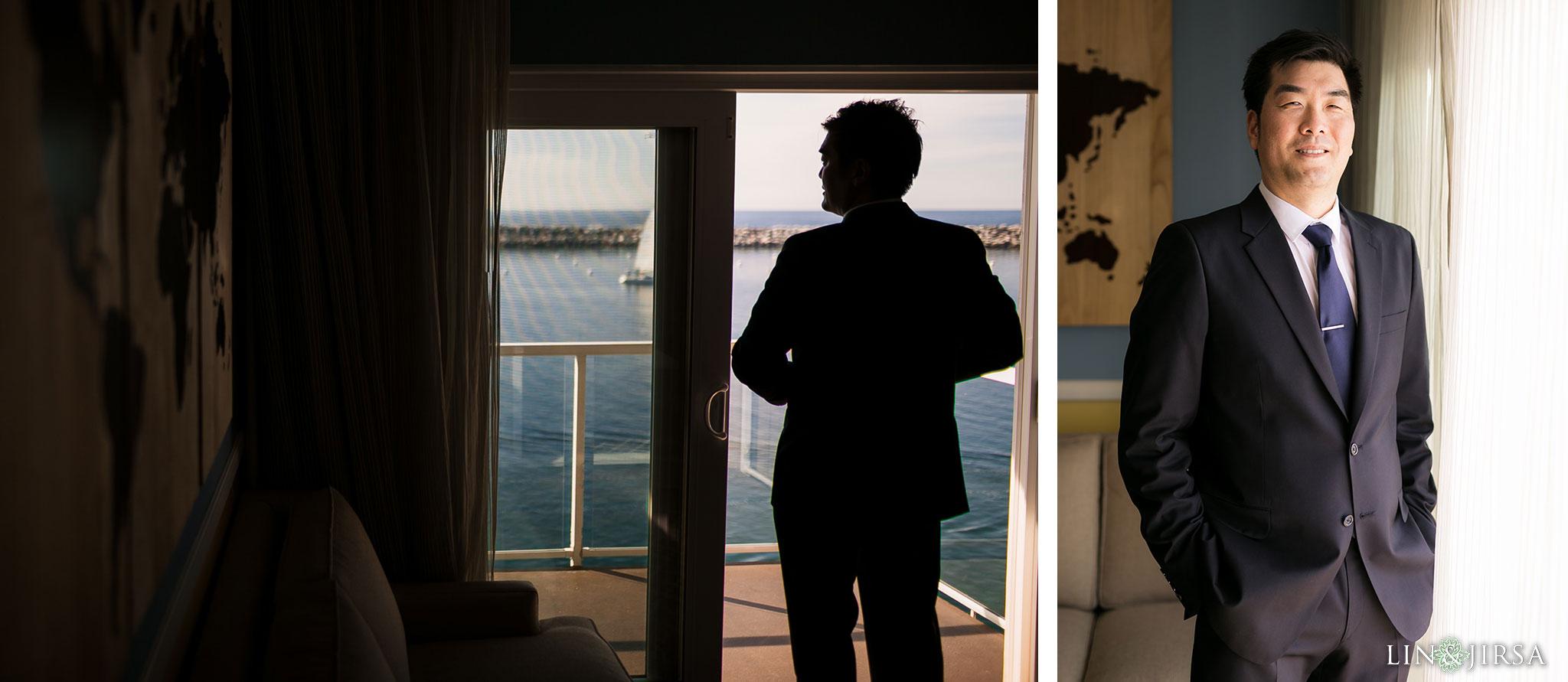08 portofino hotel redondo beach groom wedding photography