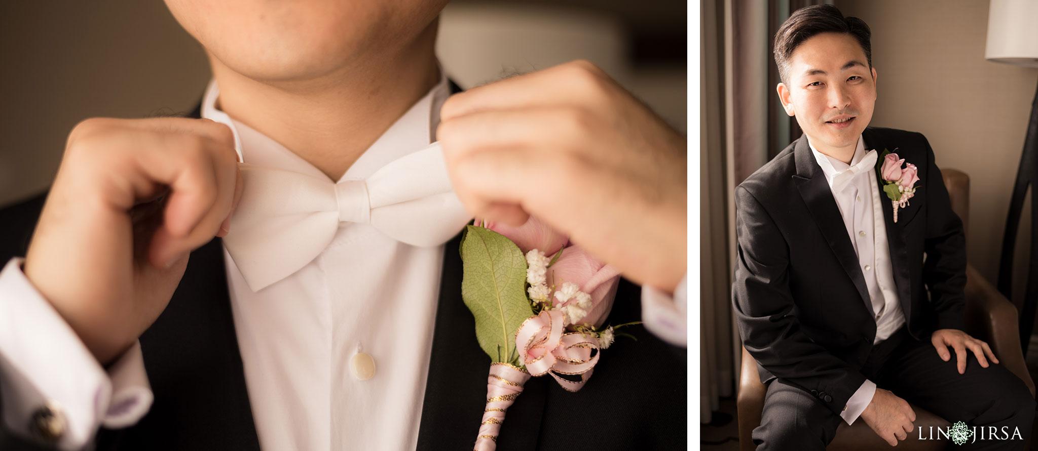 09 san gabriel hilton wedding groom photography
