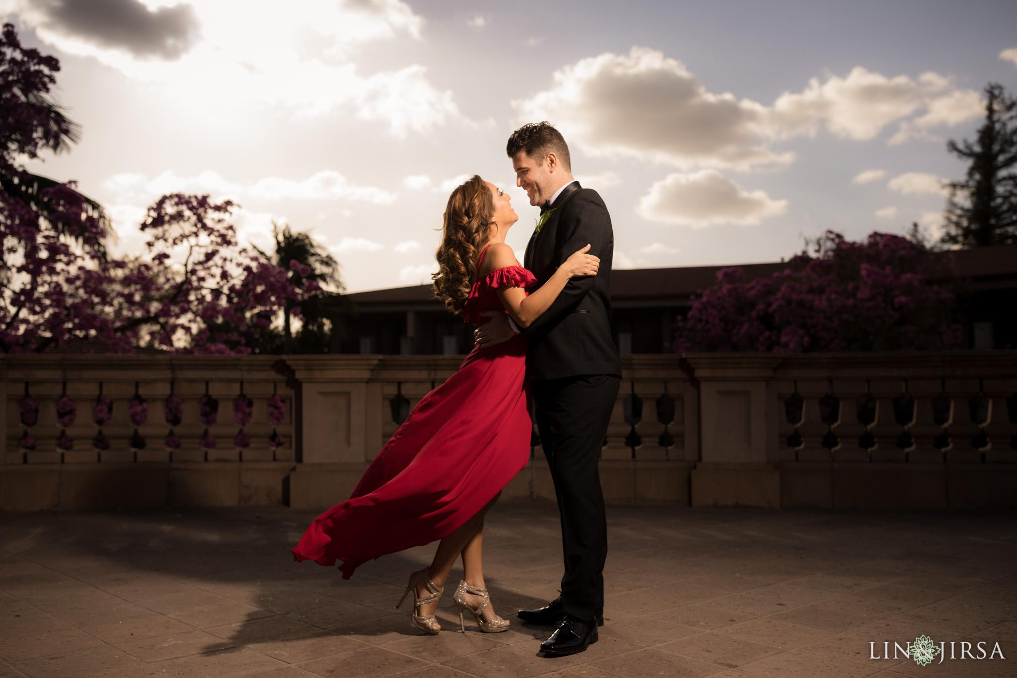 11 langham huntington pasadena engagement photography