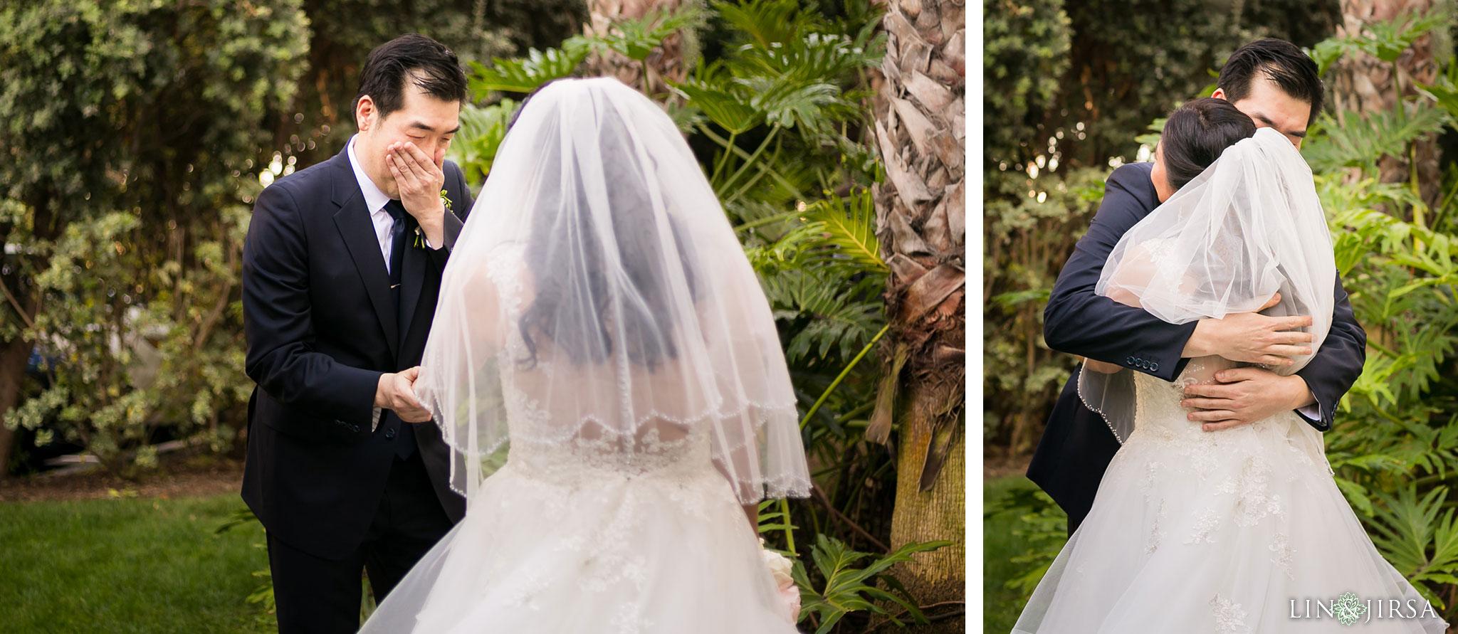 11 portofino hotel redondo beach first look wedding photography