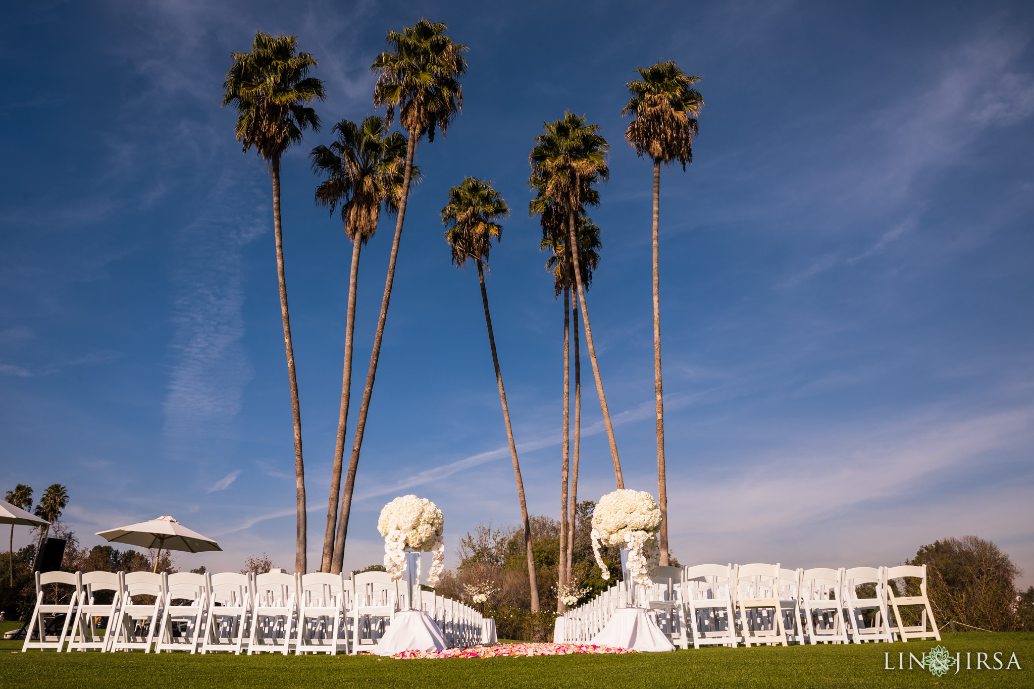 12 los coyotes country club wedding ceremony photography