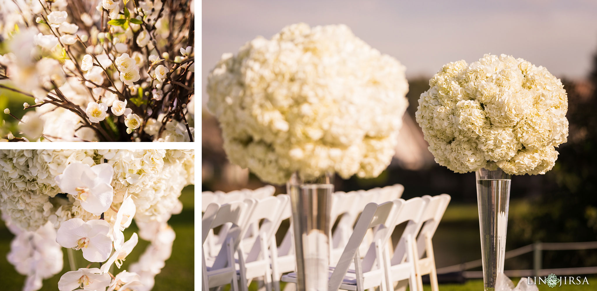 13 los coyotes country club wedding ceremony flowers photography