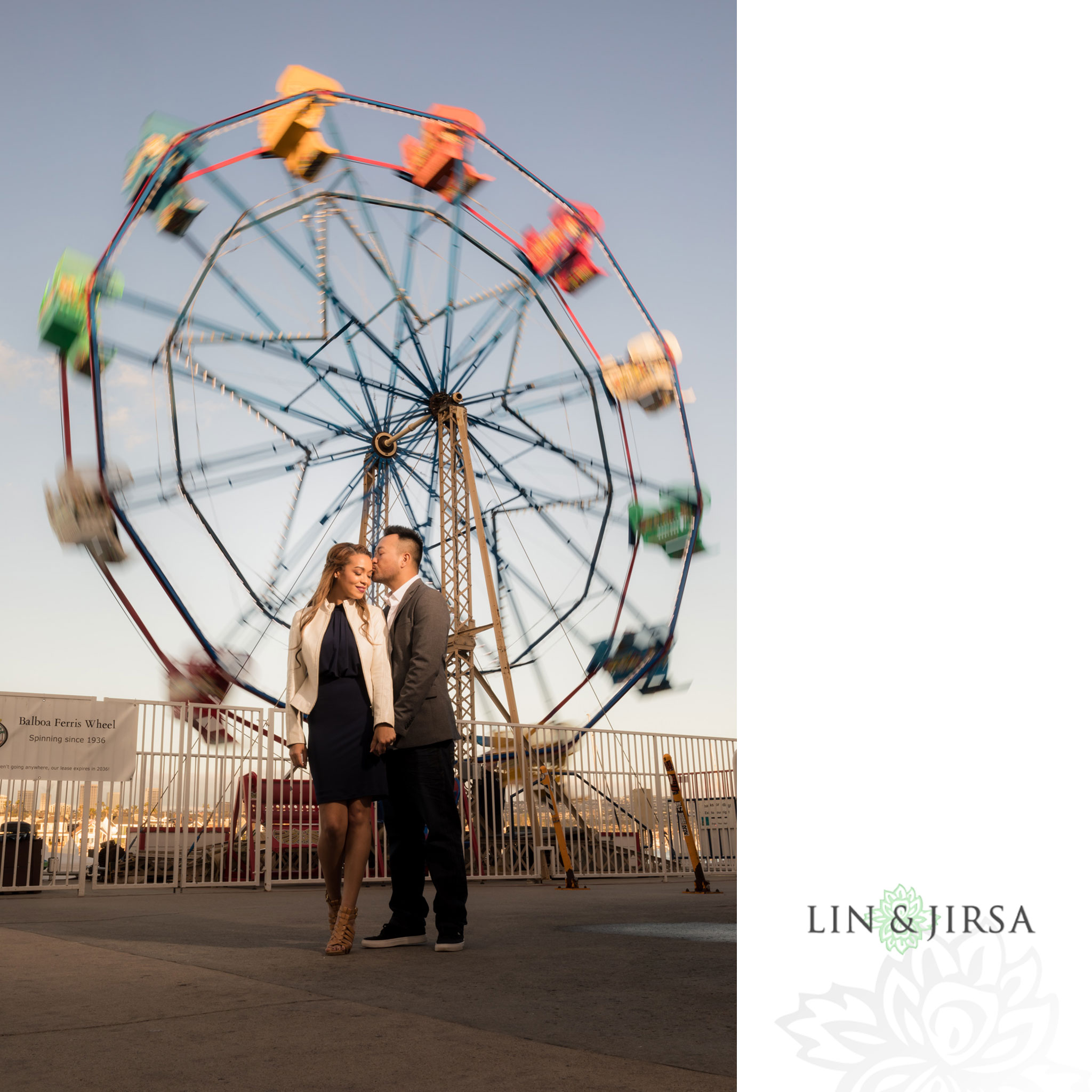 13 newport beach pier engagement photography