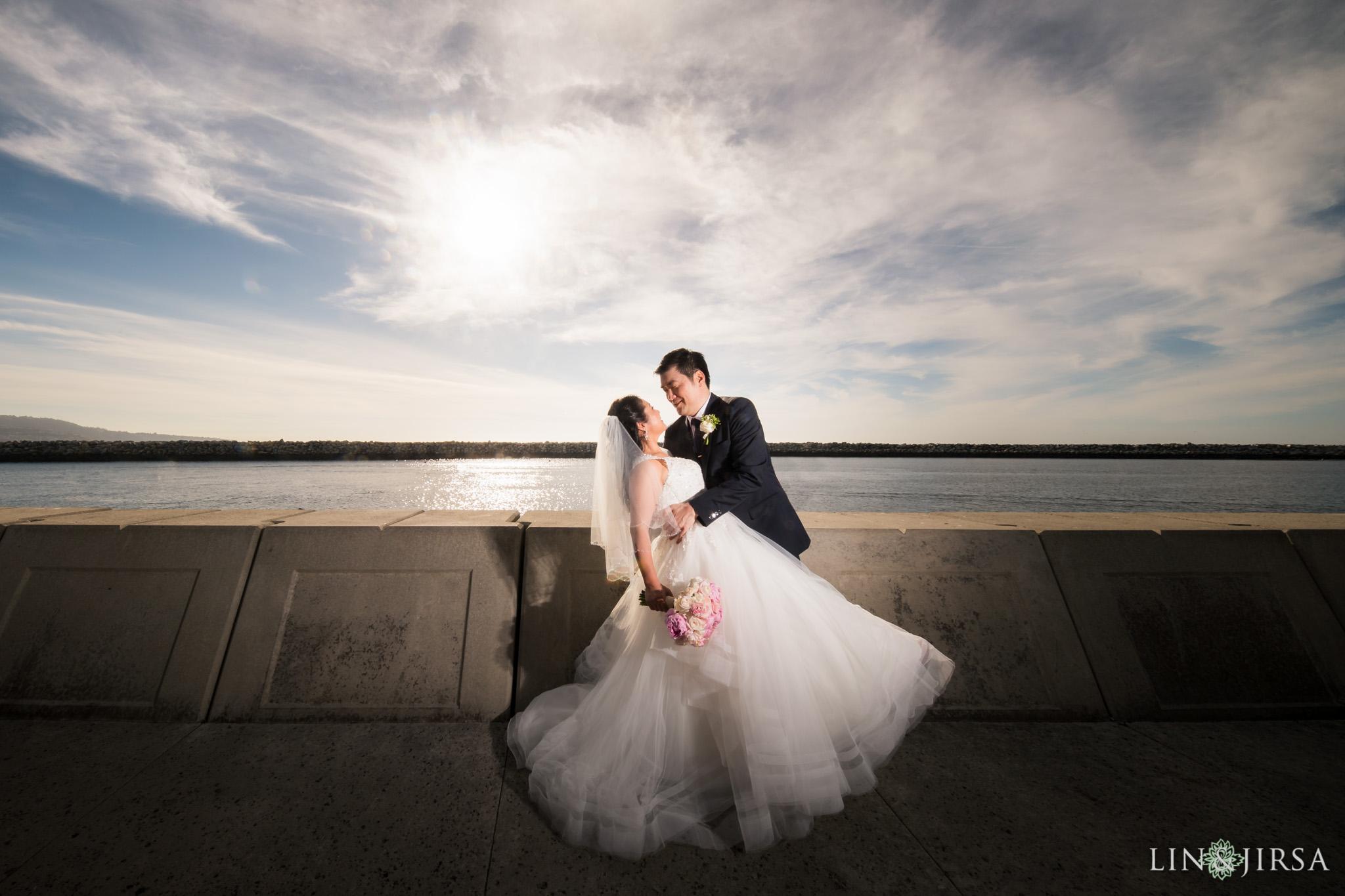 13 portofino hotel redondo beach bride groom wedding photography