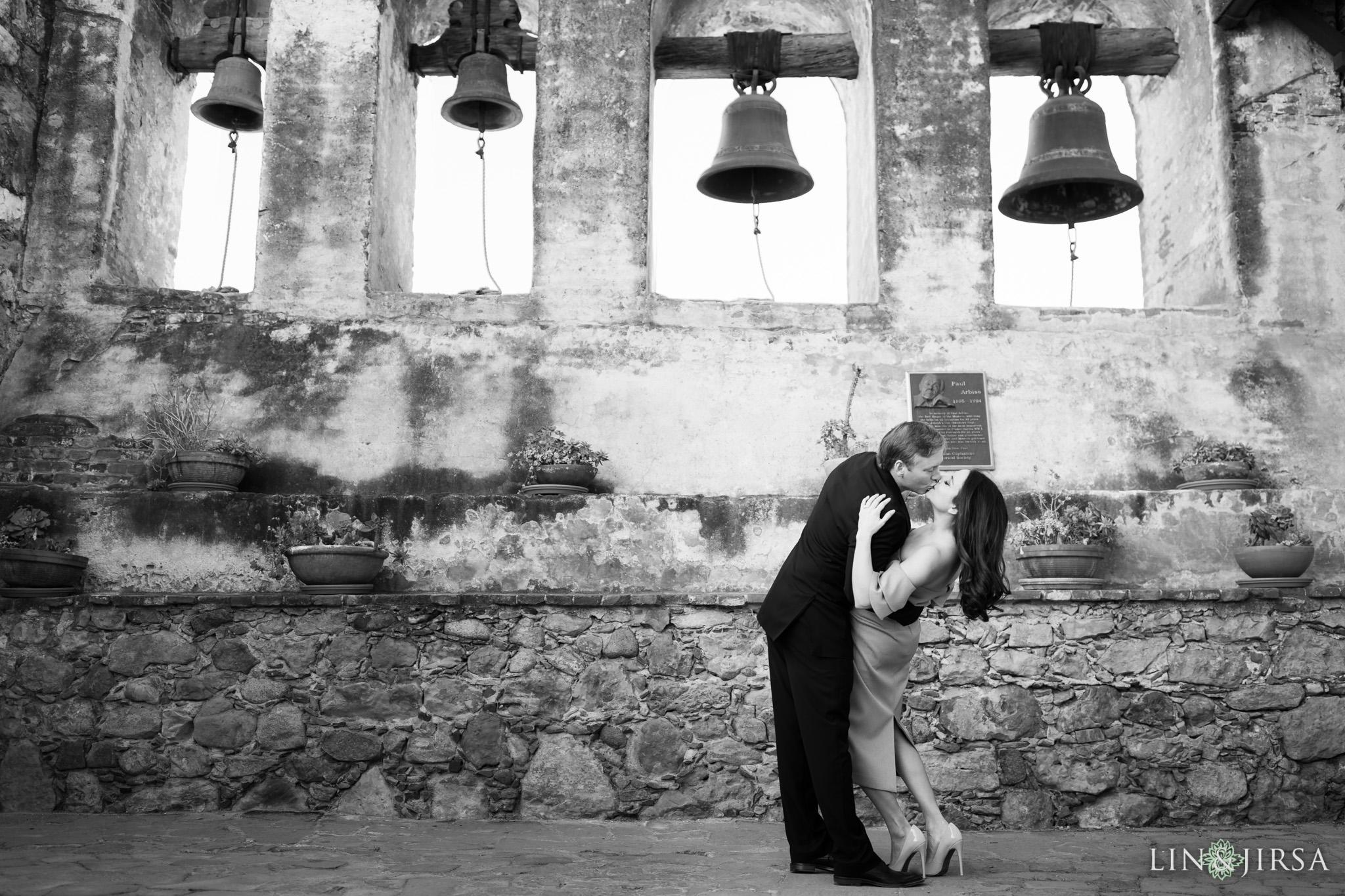 14 mission san juan capistrano engagement photography