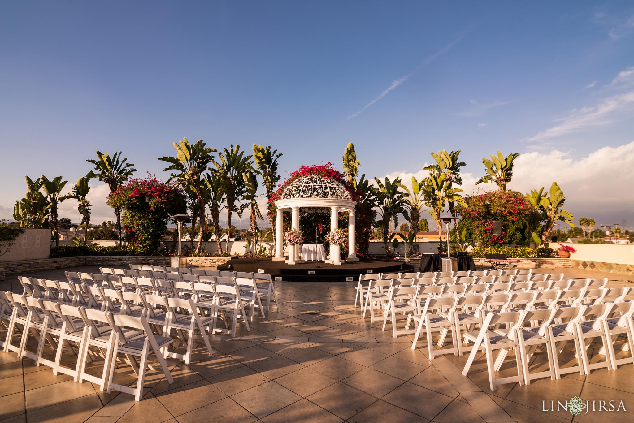 16 san gabriel hilton wedding ceremony photography