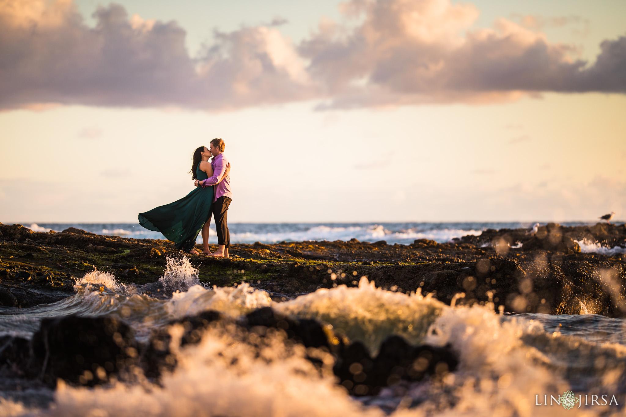 17 laguna beach engagement photography