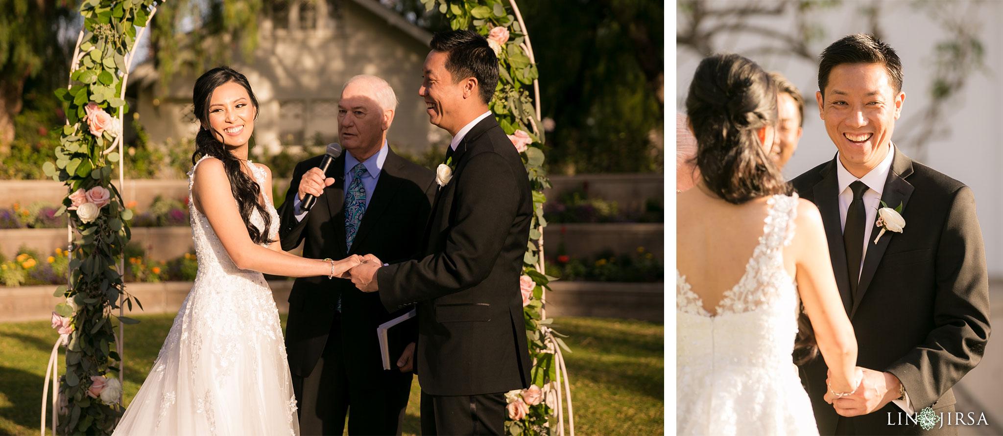 17 richard nixon library wedding ceremony photography