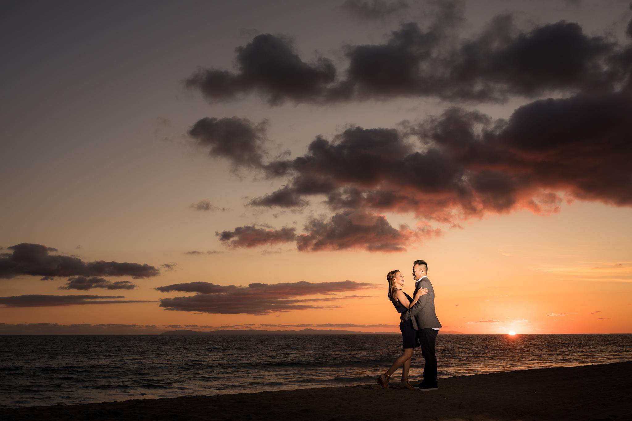 18 newport beach pier engagement photography