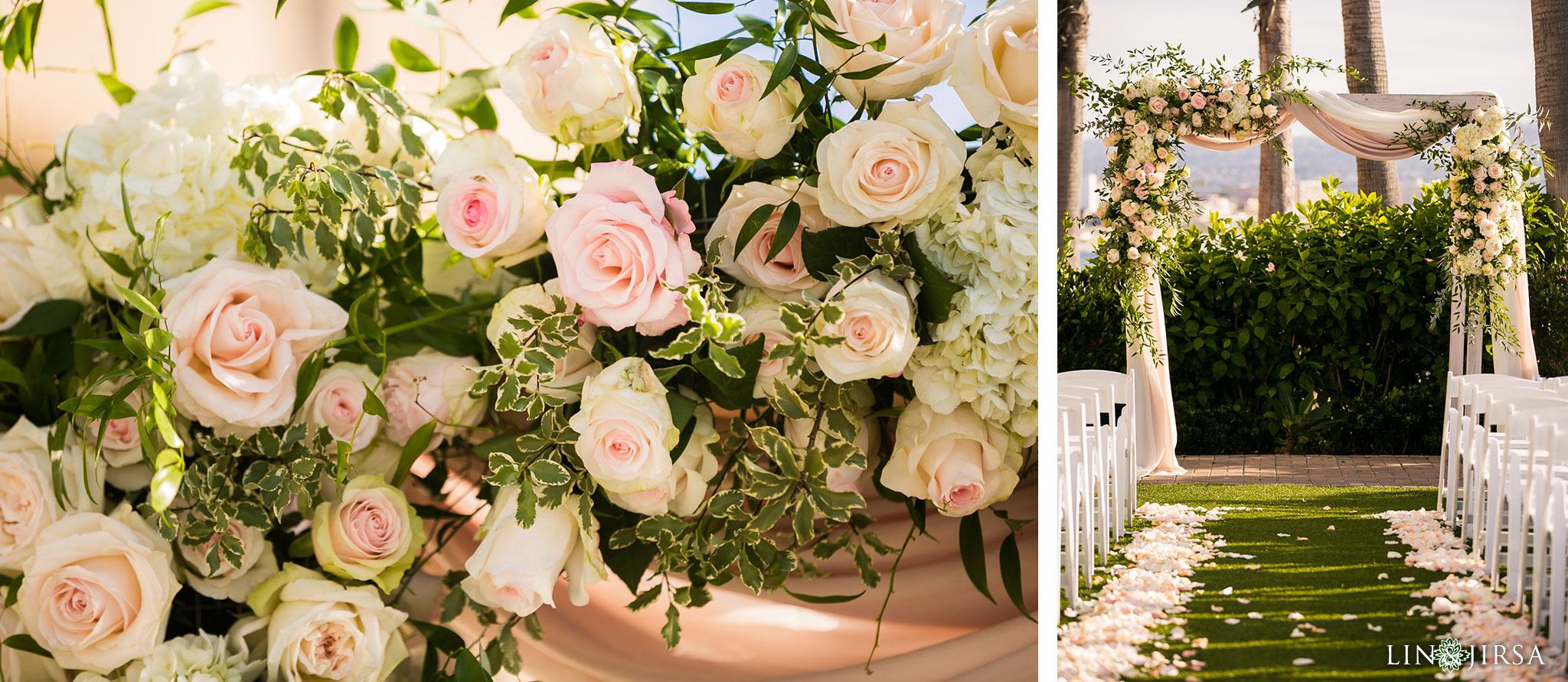19 portofino hotel redondo beach wedding ceremony photography