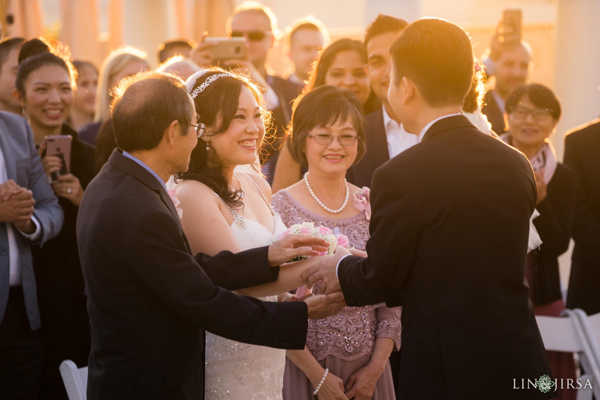 19 san gabriel hilton wedding ceremony photography
