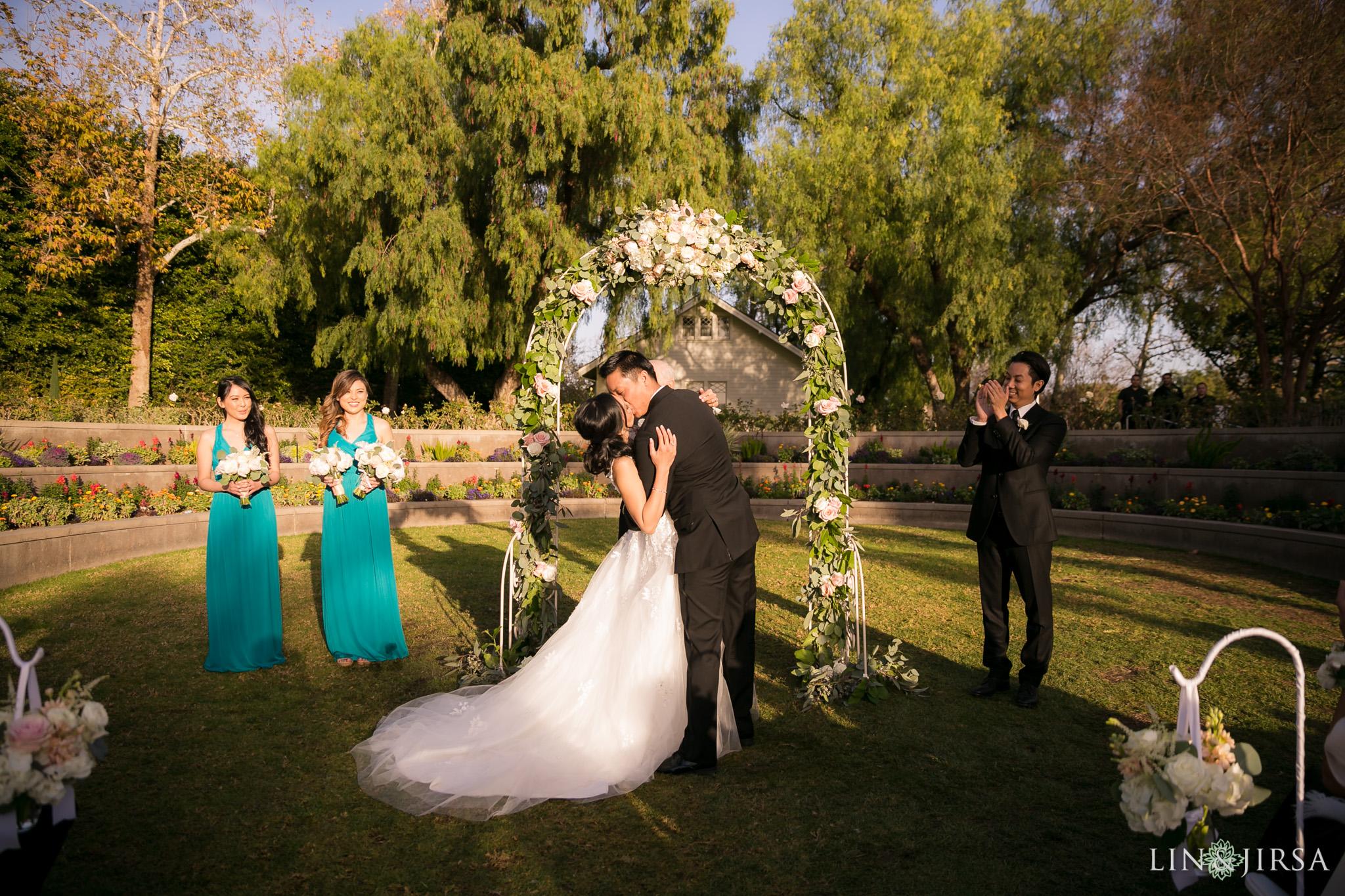 20 richard nixon library wedding ceremony photography