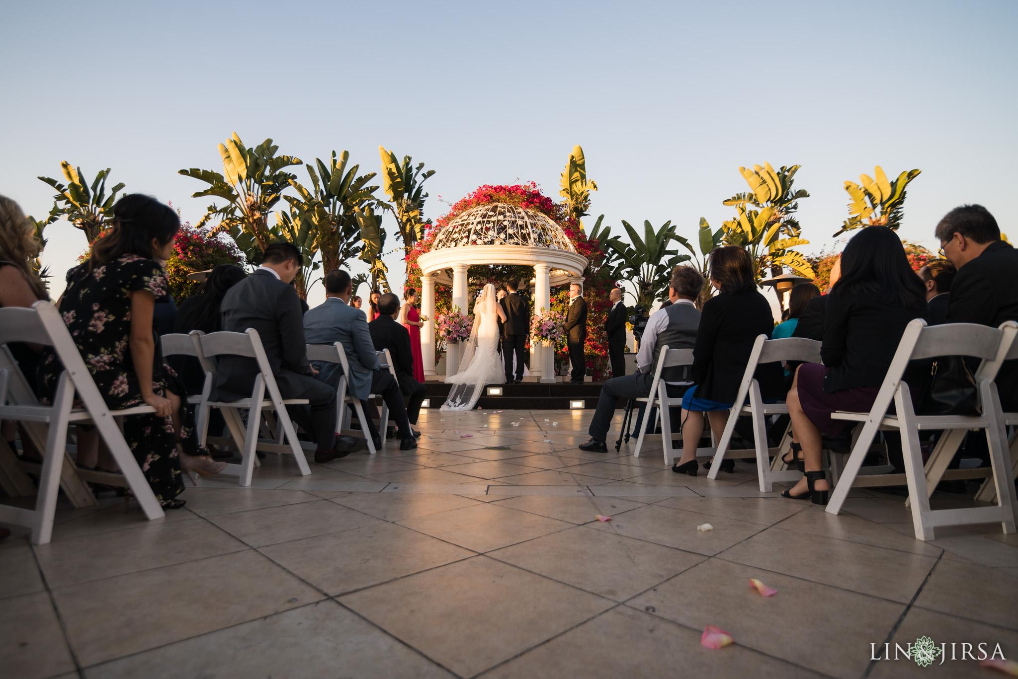 20 san gabriel hilton wedding ceremony photography