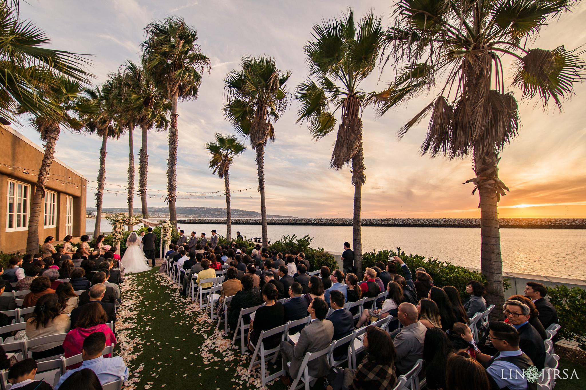 21 portofino hotel redondo beach wedding ceremony photography
