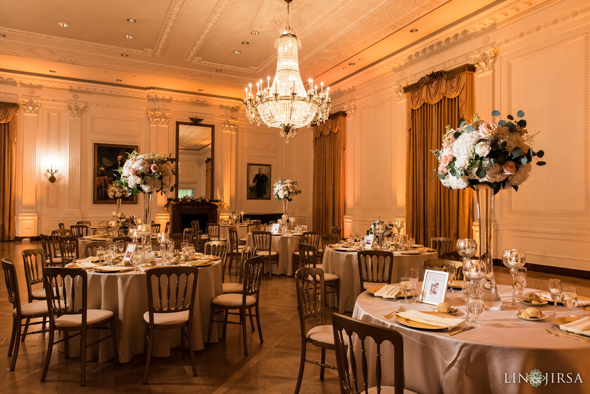 21 richard nixon library wedding reception photography