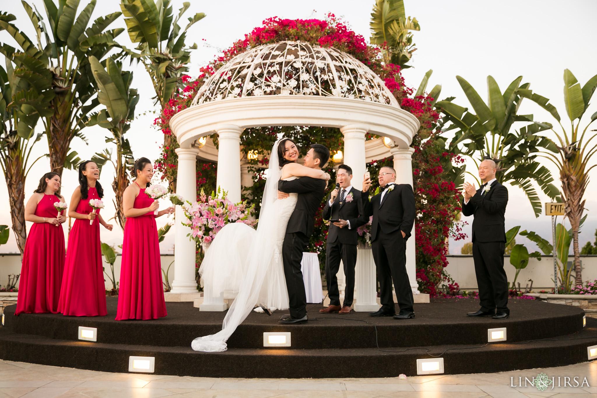 22 san gabriel hilton wedding ceremony photography