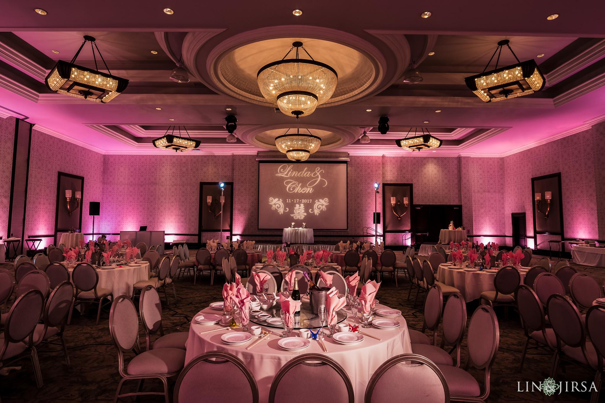23 san gabriel hilton wedding reception photography