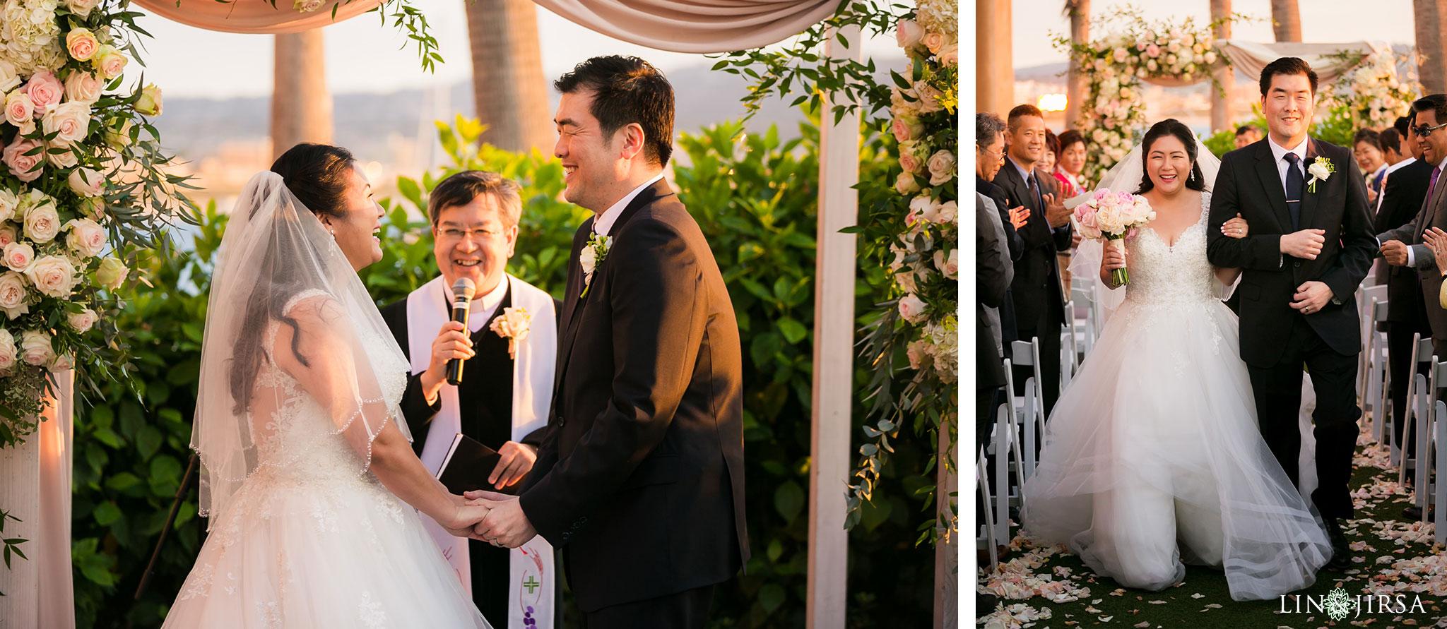 24 portofino hotel redondo beach wedding ceremony photography